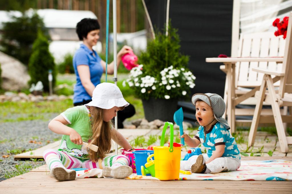 Kalajärven matkailukeskus lapsiperhe