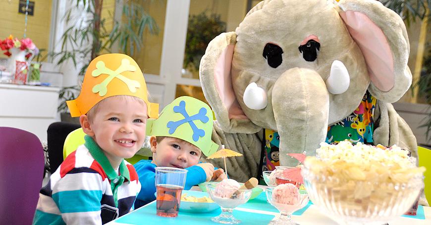 Härmän Kylpylä Nippe norsun lasten juhlat